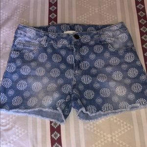 Cherokee denim shorts